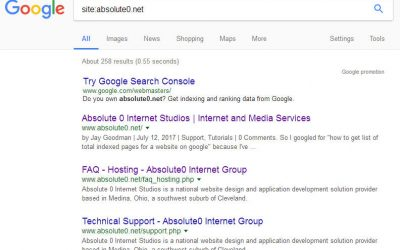 Workaround: Get a list of indexed URLs from google